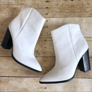 Halogen White Bergen Boots